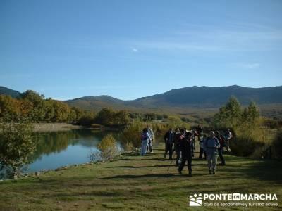 Laguna de El Salmoral  - Pueblos de la Comunidad de Madrid; grupo de senderismo madrid; foro senderi